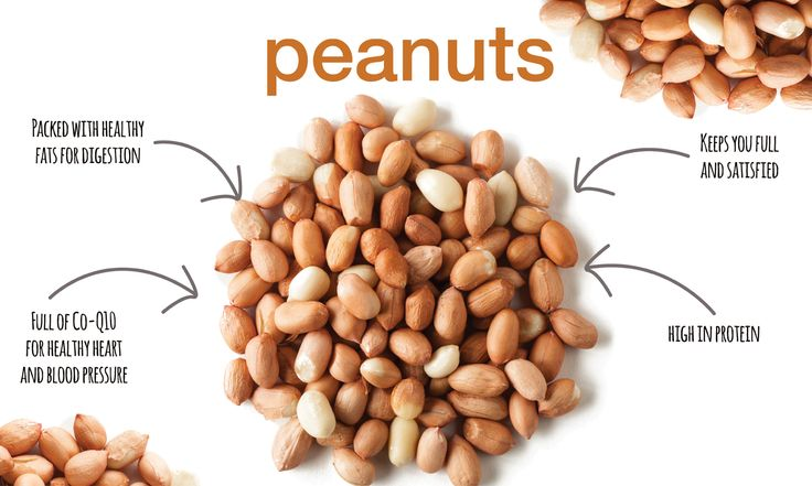 Are Peanuts A Good Snack Food